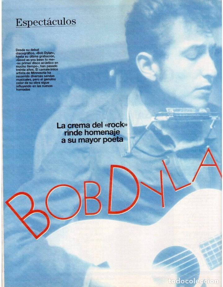 Coleccionismo de Revista Blanco y Negro: 1992. INÉS SASTRE. PALOMA LAGO. MAR FLORES. ELENA BARQUILLA. NIEVES ÁLVAREZ. AZÚCAR MORENO. VER - Foto 10 - 144320502