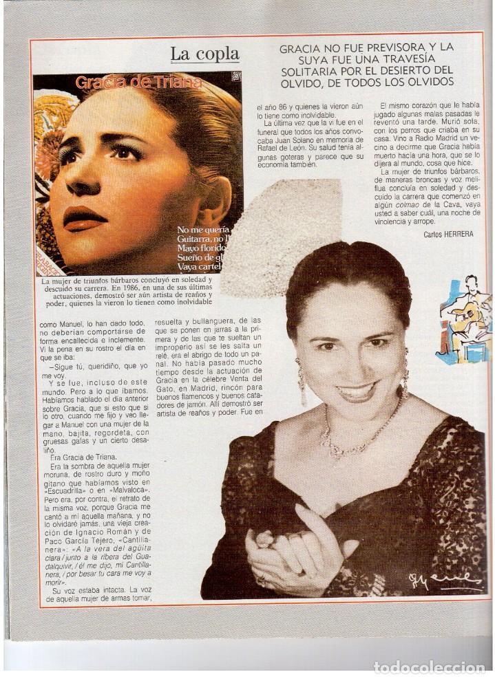 Coleccionismo de Revista Blanco y Negro: 1992. INÉS SASTRE. PALOMA LAGO. MAR FLORES. ELENA BARQUILLA. NIEVES ÁLVAREZ. AZÚCAR MORENO. VER - Foto 12 - 144320502