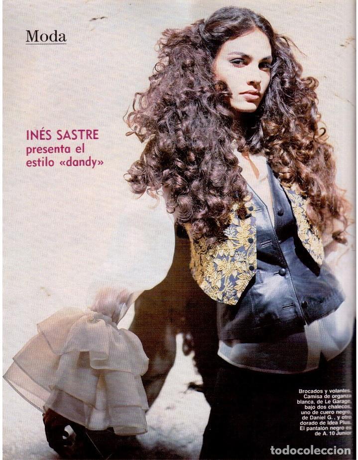 Coleccionismo de Revista Blanco y Negro: 1992. INÉS SASTRE. PALOMA LAGO. MAR FLORES. ELENA BARQUILLA. NIEVES ÁLVAREZ. AZÚCAR MORENO. VER - Foto 13 - 144320502