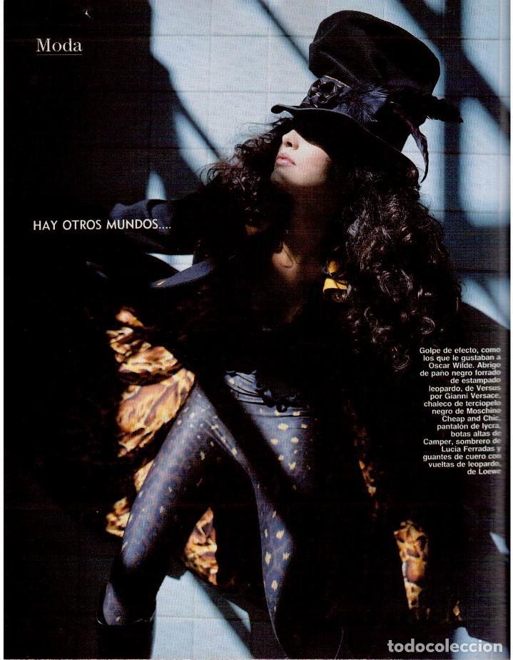 Coleccionismo de Revista Blanco y Negro: 1992. INÉS SASTRE. PALOMA LAGO. MAR FLORES. ELENA BARQUILLA. NIEVES ÁLVAREZ. AZÚCAR MORENO. VER - Foto 14 - 144320502