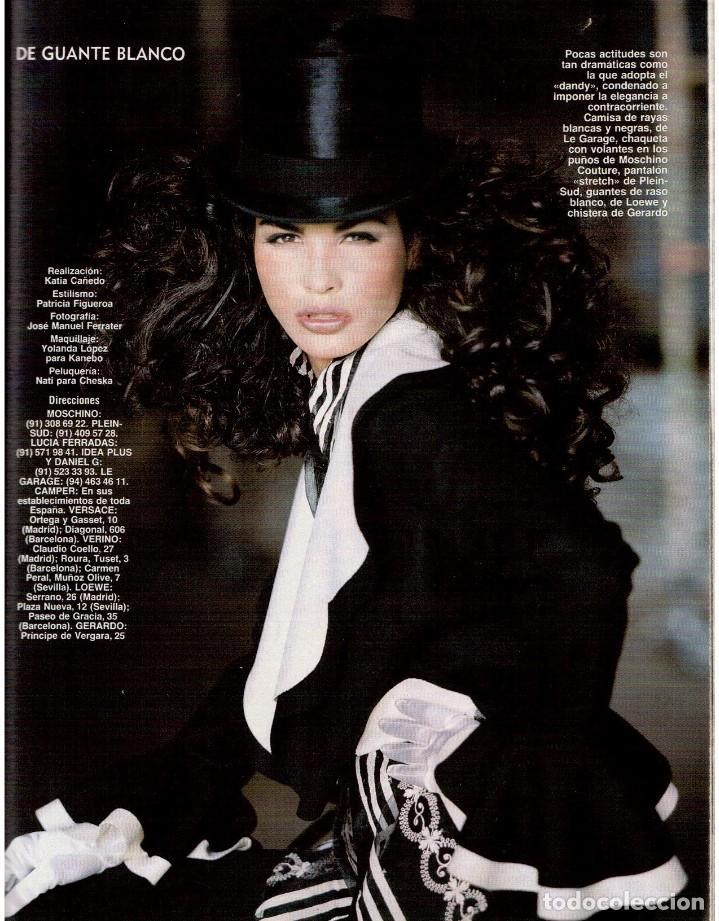 Coleccionismo de Revista Blanco y Negro: 1992. INÉS SASTRE. PALOMA LAGO. MAR FLORES. ELENA BARQUILLA. NIEVES ÁLVAREZ. AZÚCAR MORENO. VER - Foto 15 - 144320502