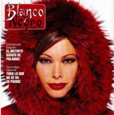 Coleccionismo de Revista Blanco y Negro: 1992. CRISTINA PIAGET. JUDIT MASCÓ. BRACK CROWES. ALASKA. THE CURE. TALGO. MADONNA. VER SUMARIO.. Lote 144325826