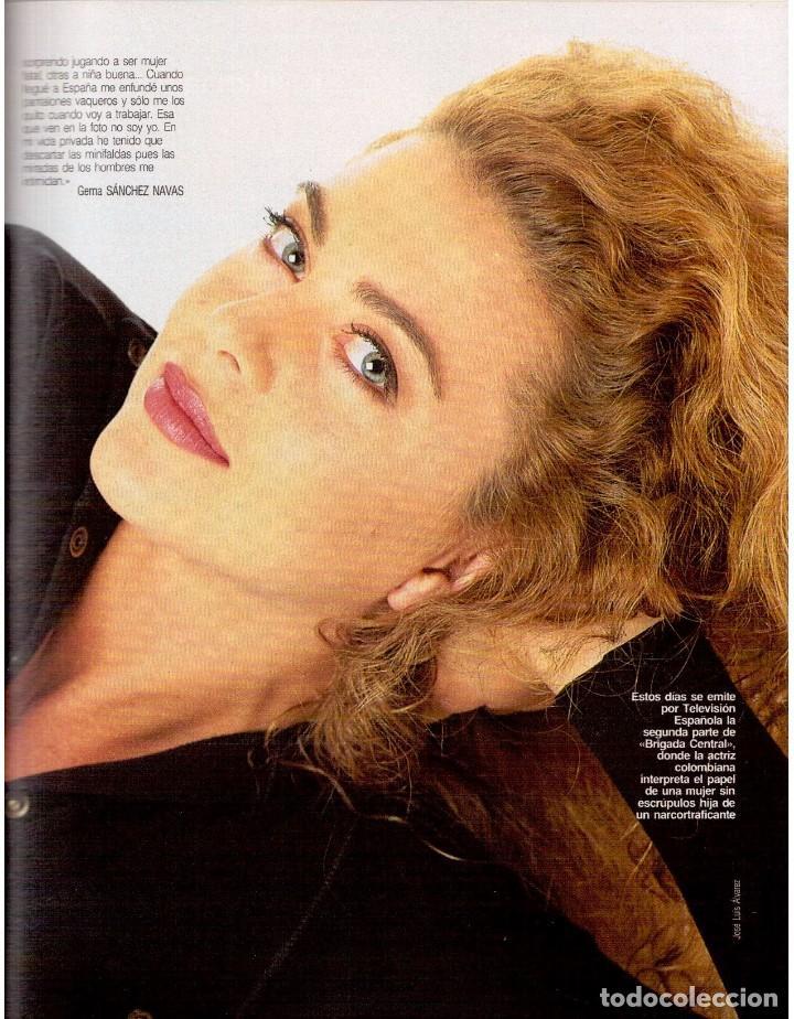 Coleccionismo de Revista Blanco y Negro: 1992. CRISTINA PIAGET. JUDIT MASCÓ. BRACK CROWES. ALASKA. THE CURE. TALGO. MADONNA. VER SUMARIO. - Foto 6 - 144325826