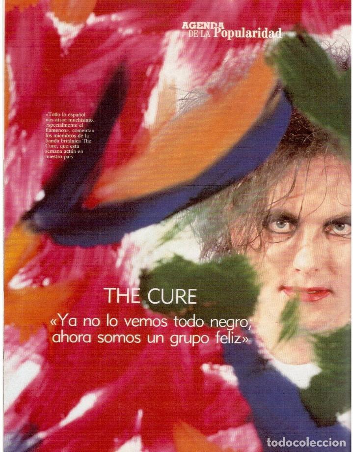 Coleccionismo de Revista Blanco y Negro: 1992. CRISTINA PIAGET. JUDIT MASCÓ. BRACK CROWES. ALASKA. THE CURE. TALGO. MADONNA. VER SUMARIO. - Foto 7 - 144325826