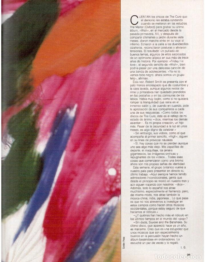 Coleccionismo de Revista Blanco y Negro: 1992. CRISTINA PIAGET. JUDIT MASCÓ. BRACK CROWES. ALASKA. THE CURE. TALGO. MADONNA. VER SUMARIO. - Foto 8 - 144325826
