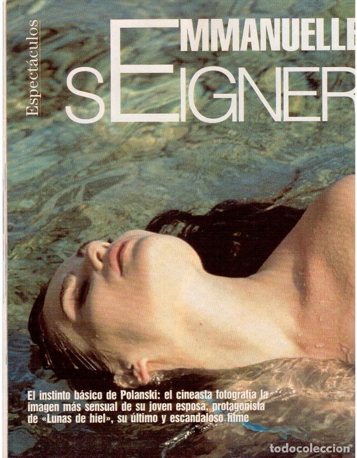 Coleccionismo de Revista Blanco y Negro: 1992. CRISTINA PIAGET. JUDIT MASCÓ. BRACK CROWES. ALASKA. THE CURE. TALGO. MADONNA. VER SUMARIO. - Foto 9 - 144325826