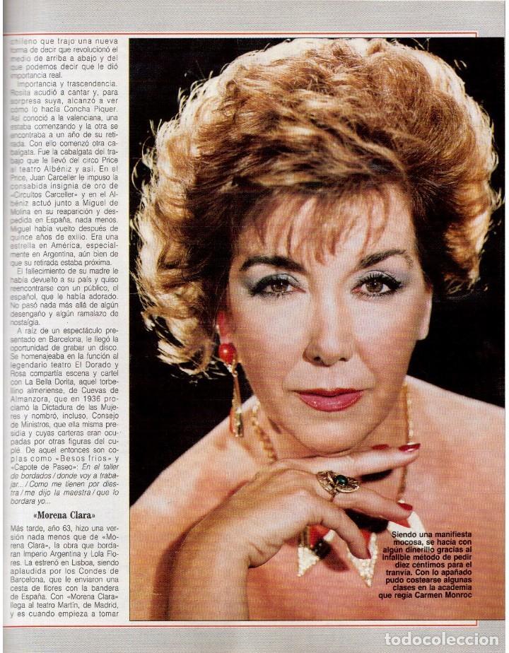 Coleccionismo de Revista Blanco y Negro: 1992. CRISTINA PIAGET. JUDIT MASCÓ. BRACK CROWES. ALASKA. THE CURE. TALGO. MADONNA. VER SUMARIO. - Foto 11 - 144325826