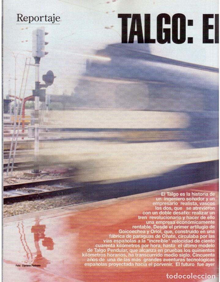 Coleccionismo de Revista Blanco y Negro: 1992. CRISTINA PIAGET. JUDIT MASCÓ. BRACK CROWES. ALASKA. THE CURE. TALGO. MADONNA. VER SUMARIO. - Foto 12 - 144325826