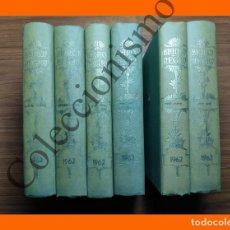 Coleccionismo de Revista Blanco y Negro: BLANCO Y NEGRO, REVISTA SEMANAL ILUSTRADA. AÑO 1962 - 6 TOMOS. Lote 144429074