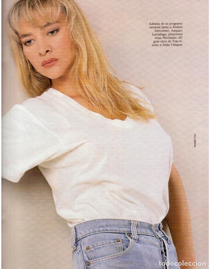 Coleccionismo de Revista Blanco y Negro: 1992. CLAUDIA SCHIFFER. MIGUEL BOSÉ. IMÁN. ISABEL PANTOJA. MARLENE DIETRICH. ANTONIO AMAYA. VER - Foto 8 - 144466310