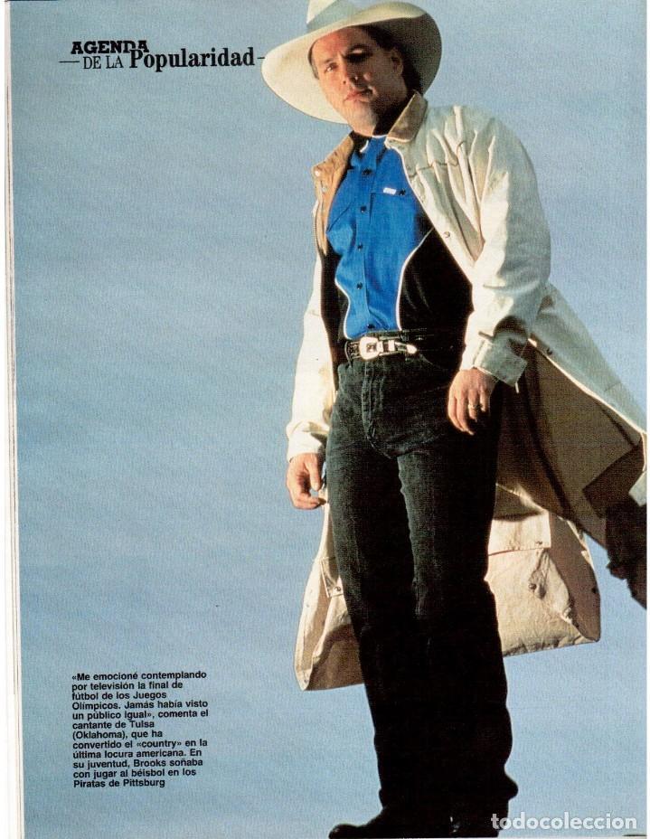 Coleccionismo de Revista Blanco y Negro: 1992. CLAUDIA SCHIFFER. MIGUEL BOSÉ. IMÁN. ISABEL PANTOJA. MARLENE DIETRICH. ANTONIO AMAYA. VER - Foto 9 - 144466310