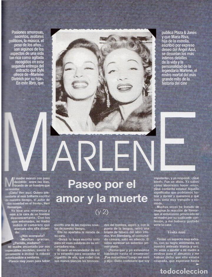 Coleccionismo de Revista Blanco y Negro: 1992. CLAUDIA SCHIFFER. MIGUEL BOSÉ. IMÁN. ISABEL PANTOJA. MARLENE DIETRICH. ANTONIO AMAYA. VER - Foto 11 - 144466310