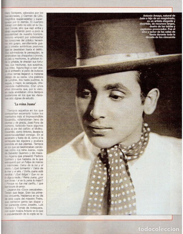Coleccionismo de Revista Blanco y Negro: 1992. CLAUDIA SCHIFFER. MIGUEL BOSÉ. IMÁN. ISABEL PANTOJA. MARLENE DIETRICH. ANTONIO AMAYA. VER - Foto 12 - 144466310