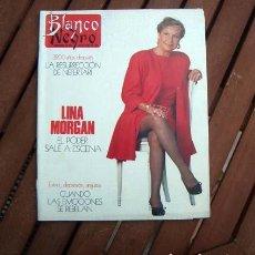Coleccionismo de Revista Blanco y Negro: BLANCO Y NEGRO / LINA MORGAN, MARIA DEL MONTE, AZUCAR MORENO, DIANA DURBIN, PRINCIPE FELIPE. Lote 144616214
