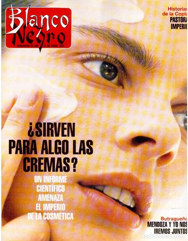 1993. PALOMA SAN BASILIO. NATALIA ESTRADA. QUICA APARICIO. CARLOS SAINZ. ASSUMPTA SERNA. VER (Coleccionismo - Revistas y Periódicos Modernos (a partir de 1.940) - Blanco y Negro)