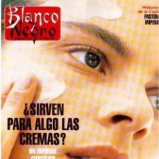 Coleccionismo de Revista Blanco y Negro: 1993. PALOMA SAN BASILIO. NATALIA ESTRADA. QUICA APARICIO. CARLOS SAINZ. ASSUMPTA SERNA. VER . Lote 144768722