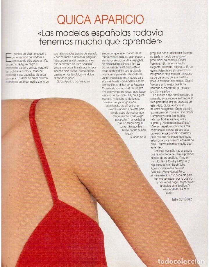 Coleccionismo de Revista Blanco y Negro: 1993. PALOMA SAN BASILIO. NATALIA ESTRADA. QUICA APARICIO. CARLOS SAINZ. ASSUMPTA SERNA. VER - Foto 6 - 144768722