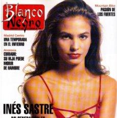 Coleccionismo de Revista Blanco y Negro: 1993. INÉS SASTRE. SONÍA BRAGA. CHRISTINA ROSENVINGE. BEATRIZ SANTANA. VER SUMARIO.. Lote 144771406
