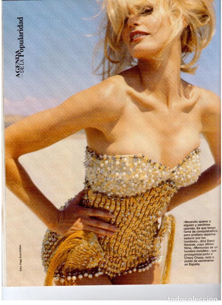 Coleccionismo de Revista Blanco y Negro: 1993. LYDIA BOSCH. DARYL HANNAH. SHONA DWYRE. JAMIE LEE CURTIS. LUZ DE LUNA. CRISTINA SÁNCHEZ. VER - Foto 4 - 144781774