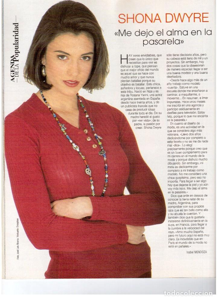 Coleccionismo de Revista Blanco y Negro: 1993. LYDIA BOSCH. DARYL HANNAH. SHONA DWYRE. JAMIE LEE CURTIS. LUZ DE LUNA. CRISTINA SÁNCHEZ. VER - Foto 5 - 144781774