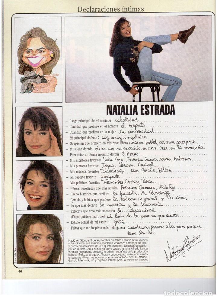 Coleccionismo de Revista Blanco y Negro: 1993. LYDIA BOSCH. DARYL HANNAH. SHONA DWYRE. JAMIE LEE CURTIS. LUZ DE LUNA. CRISTINA SÁNCHEZ. VER - Foto 6 - 144781774