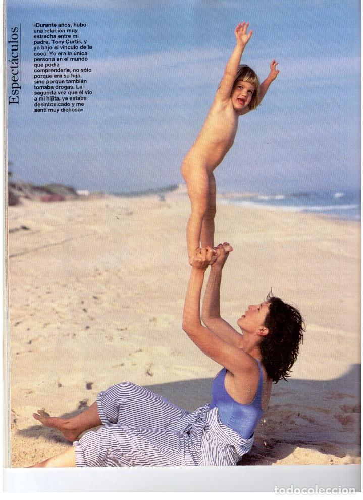 Coleccionismo de Revista Blanco y Negro: 1993. LYDIA BOSCH. DARYL HANNAH. SHONA DWYRE. JAMIE LEE CURTIS. LUZ DE LUNA. CRISTINA SÁNCHEZ. VER - Foto 7 - 144781774