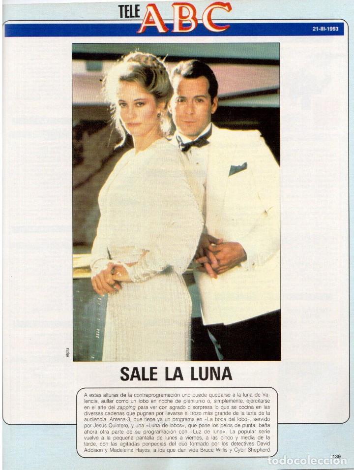 Coleccionismo de Revista Blanco y Negro: 1993. LYDIA BOSCH. DARYL HANNAH. SHONA DWYRE. JAMIE LEE CURTIS. LUZ DE LUNA. CRISTINA SÁNCHEZ. VER - Foto 9 - 144781774