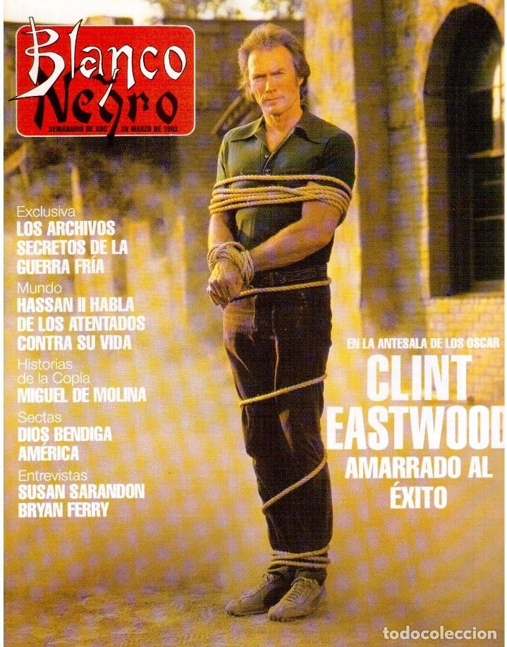 1993. CLINT EASTWOOD. YVONNE REYES. ANA PIEDAD GALVÁN. BRYAN FERRY (ROXY MUSIC). VER SUMARIO (Coleccionismo - Revistas y Periódicos Modernos (a partir de 1.940) - Blanco y Negro)