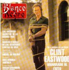 Coleccionismo de Revista Blanco y Negro: 1993. CLINT EASTWOOD. YVONNE REYES. ANA PIEDAD GALVÁN. BRYAN FERRY (ROXY MUSIC). VER SUMARIO. Lote 144784154