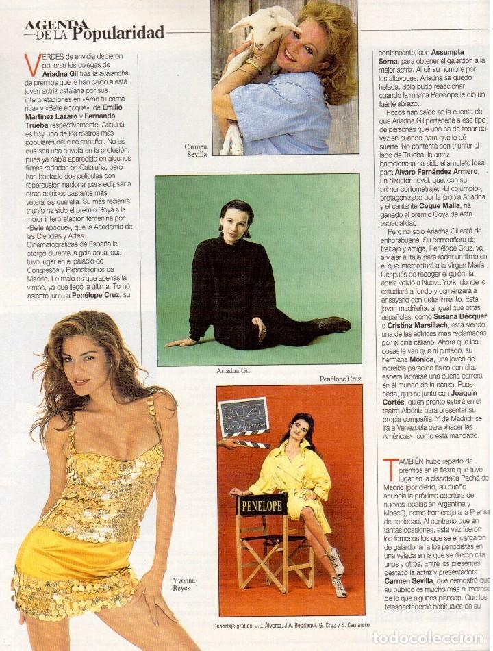 Coleccionismo de Revista Blanco y Negro: 1993. CLINT EASTWOOD. YVONNE REYES. ANA PIEDAD GALVÁN. BRYAN FERRY (ROXY MUSIC). VER SUMARIO - Foto 3 - 144784154
