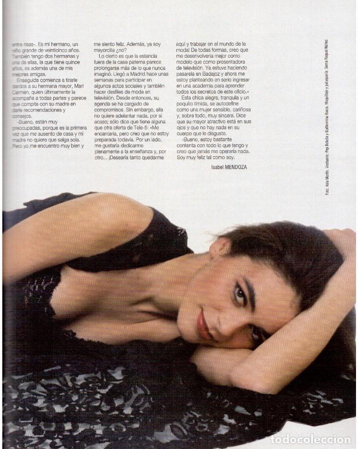 Coleccionismo de Revista Blanco y Negro: 1993. CLINT EASTWOOD. YVONNE REYES. ANA PIEDAD GALVÁN. BRYAN FERRY (ROXY MUSIC). VER SUMARIO - Foto 4 - 144784154