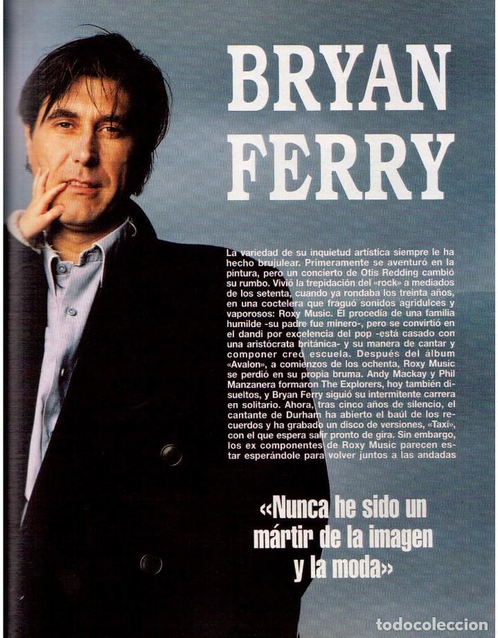 Coleccionismo de Revista Blanco y Negro: 1993. CLINT EASTWOOD. YVONNE REYES. ANA PIEDAD GALVÁN. BRYAN FERRY (ROXY MUSIC). VER SUMARIO - Foto 6 - 144784154