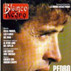 Coleccionismo de Revista Blanco y Negro: 1993. PEDRO DELGADO. LYDIA BOSCH. HEROES DEL SILENCIO. PALOMA MARÍN. JULIO MEDEM. JOAQUÍN CORTÉS.. Lote 144791526
