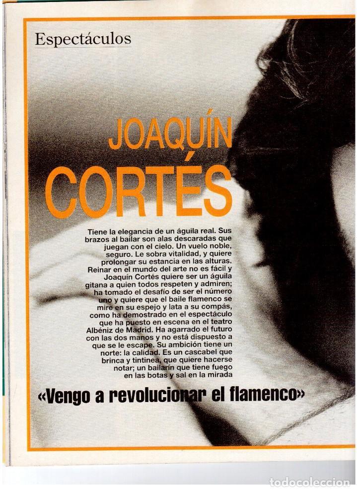 Coleccionismo de Revista Blanco y Negro: 1993. PEDRO DELGADO. LYDIA BOSCH. HEROES DEL SILENCIO. PALOMA MARÍN. JULIO MEDEM. JOAQUÍN CORTÉS. - Foto 6 - 144791526