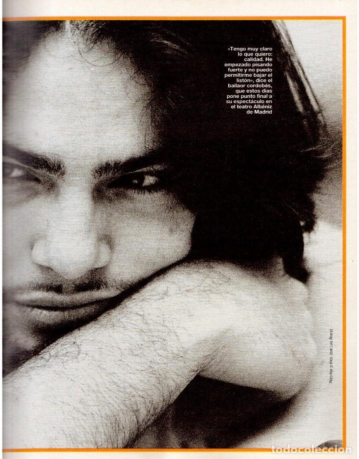 Coleccionismo de Revista Blanco y Negro: 1993. PEDRO DELGADO. LYDIA BOSCH. HEROES DEL SILENCIO. PALOMA MARÍN. JULIO MEDEM. JOAQUÍN CORTÉS. - Foto 7 - 144791526