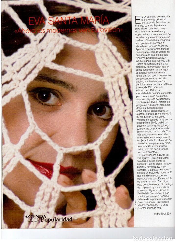 Coleccionismo de Revista Blanco y Negro: 1993. PENÉLOPE CRUZ. EVA SANTA MARÍA. LEONARD COHEN. JULEN GUERRERO. BLANCA SUELVES. VER SUMARIO. - Foto 4 - 144799190