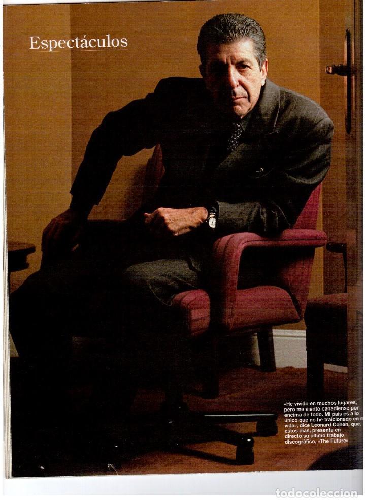 Coleccionismo de Revista Blanco y Negro: 1993. PENÉLOPE CRUZ. EVA SANTA MARÍA. LEONARD COHEN. JULEN GUERRERO. BLANCA SUELVES. VER SUMARIO. - Foto 5 - 144799190