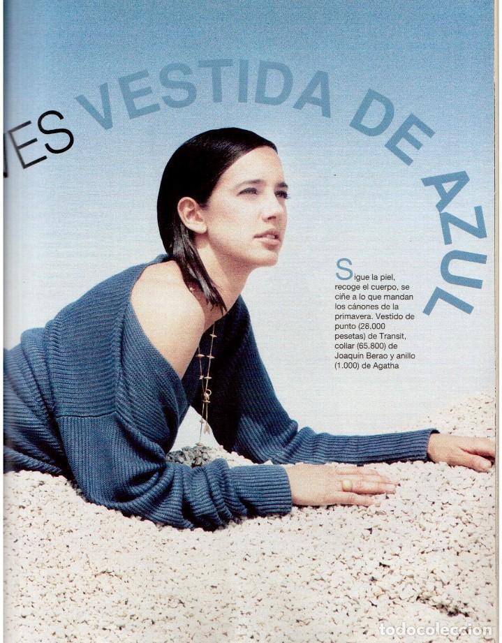 Coleccionismo de Revista Blanco y Negro: 1993. PENÉLOPE CRUZ. EVA SANTA MARÍA. LEONARD COHEN. JULEN GUERRERO. BLANCA SUELVES. VER SUMARIO. - Foto 8 - 144799190