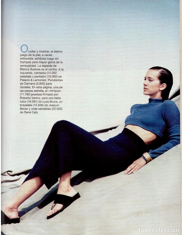 Coleccionismo de Revista Blanco y Negro: 1993. PENÉLOPE CRUZ. EVA SANTA MARÍA. LEONARD COHEN. JULEN GUERRERO. BLANCA SUELVES. VER SUMARIO. - Foto 12 - 144799190