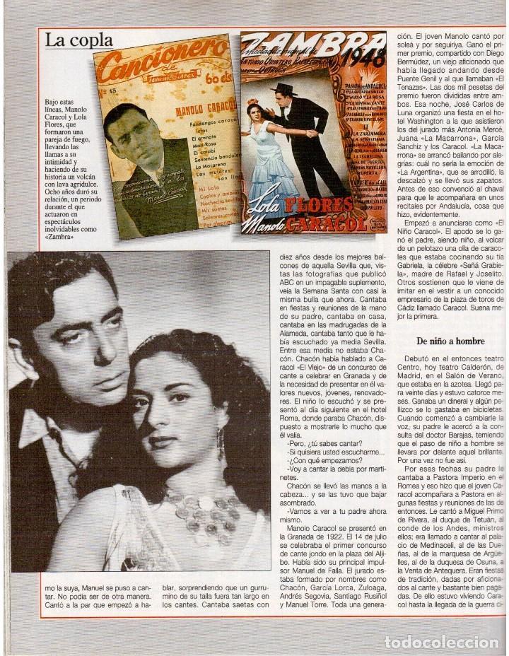 Coleccionismo de Revista Blanco y Negro: 1993. AMPARO MUÑOZ. NAOMI CAMPBELL. JUDIT MASCÓ. ARANCHA SÁNCHEZ VICARIO. ASSUMPTA SERNA. VER. - Foto 6 - 144801534