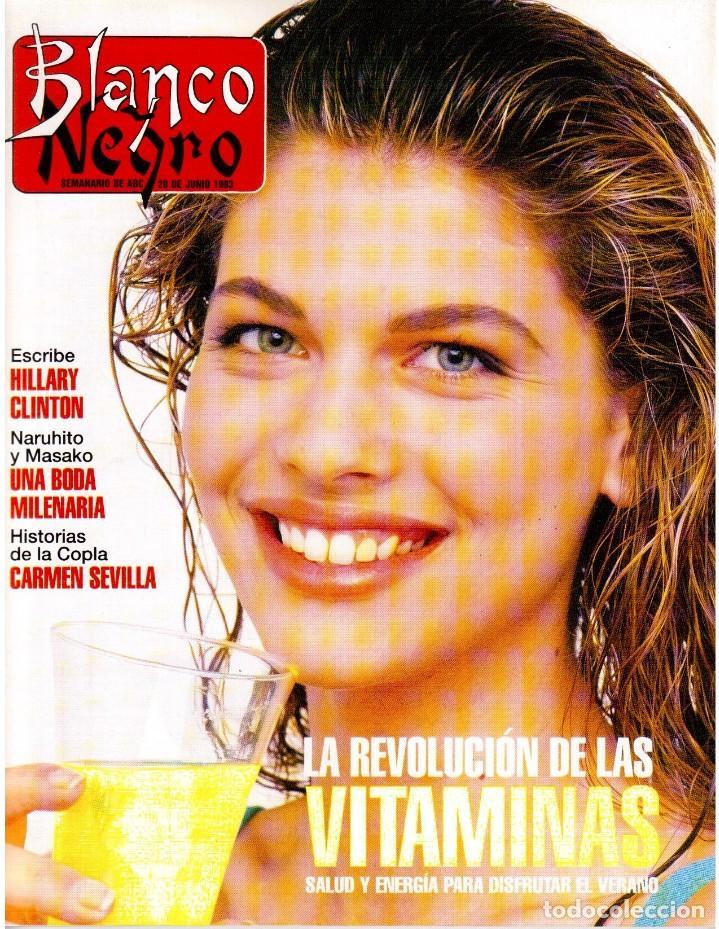 1993. MARTA SÁNCHEZ. LA BELLEZA SOLIDARIA. CARMEN ARBEX. GRAN WYOMING. HEROES DEL SILENCIO. (Coleccionismo - Revistas y Periódicos Modernos (a partir de 1.940) - Blanco y Negro)