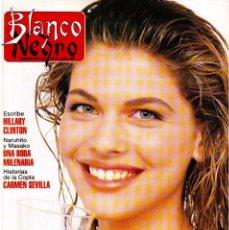 Coleccionismo de Revista Blanco y Negro: 1993. MARTA SÁNCHEZ. LA BELLEZA SOLIDARIA. CARMEN ARBEX. GRAN WYOMING. HEROES DEL SILENCIO.. Lote 144804054