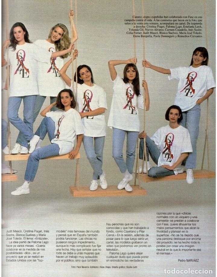 Coleccionismo de Revista Blanco y Negro: 1993. MARTA SÁNCHEZ. LA BELLEZA SOLIDARIA. CARMEN ARBEX. GRAN WYOMING. HEROES DEL SILENCIO. - Foto 5 - 144804054
