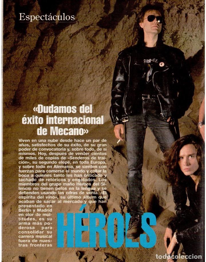 Coleccionismo de Revista Blanco y Negro: 1993. MARTA SÁNCHEZ. LA BELLEZA SOLIDARIA. CARMEN ARBEX. GRAN WYOMING. HEROES DEL SILENCIO. - Foto 8 - 144804054