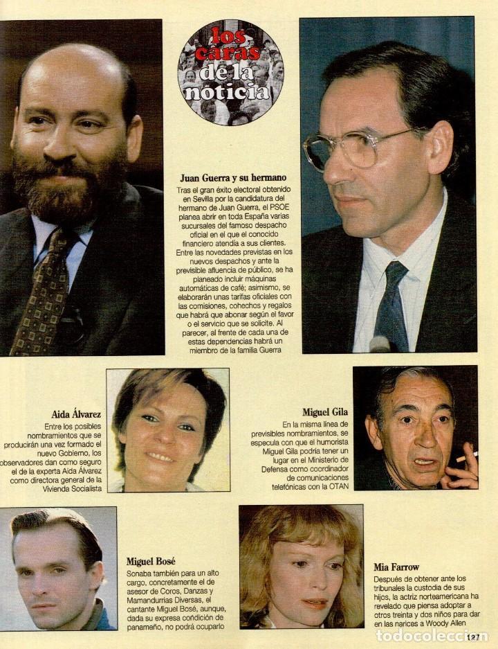 Coleccionismo de Revista Blanco y Negro: 1993. MARTA SÁNCHEZ. LA BELLEZA SOLIDARIA. CARMEN ARBEX. GRAN WYOMING. HEROES DEL SILENCIO. - Foto 13 - 144804054
