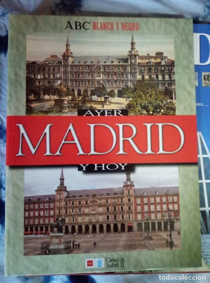PASTAS MADRID AYER Y HOY. PRIMEROS FASCÍCULOS MADRID SU HISTORIA SUS GENTES ESPASA (Coleccionismo - Revistas y Periódicos Modernos (a partir de 1.940) - Blanco y Negro)