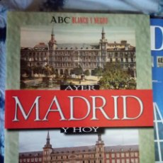 Coleccionismo de Revista Blanco y Negro: PASTAS MADRID AYER Y HOY. PRIMEROS FASCÍCULOS MADRID SU HISTORIA SUS GENTES ESPASA. Lote 144824970