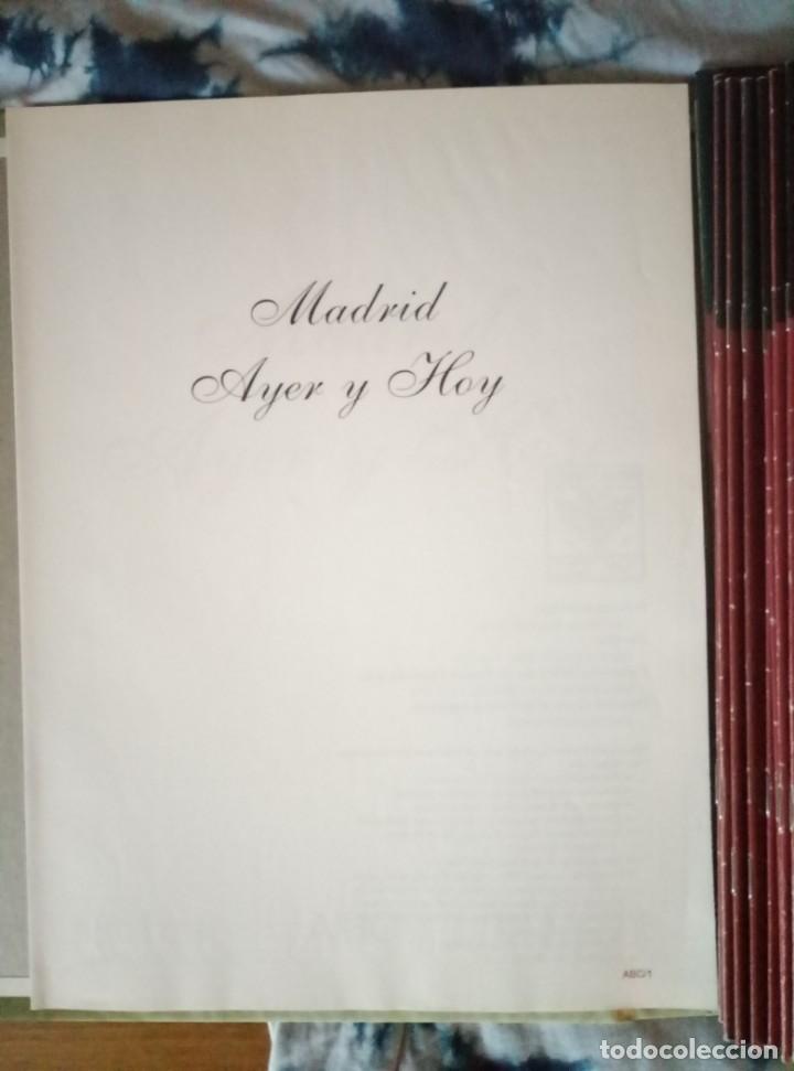 Coleccionismo de Revista Blanco y Negro: Pastas Madrid Ayer y Hoy. Primeros fascículos Madrid Su historia sus gentes Espasa - Foto 2 - 144824970