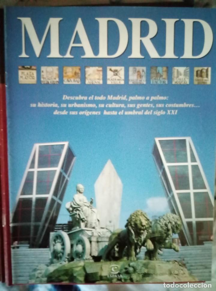 Coleccionismo de Revista Blanco y Negro: Pastas Madrid Ayer y Hoy. Primeros fascículos Madrid Su historia sus gentes Espasa - Foto 4 - 144824970