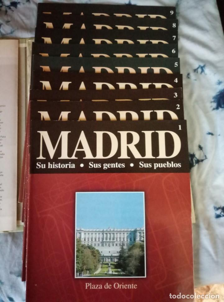 Coleccionismo de Revista Blanco y Negro: Pastas Madrid Ayer y Hoy. Primeros fascículos Madrid Su historia sus gentes Espasa - Foto 5 - 144824970